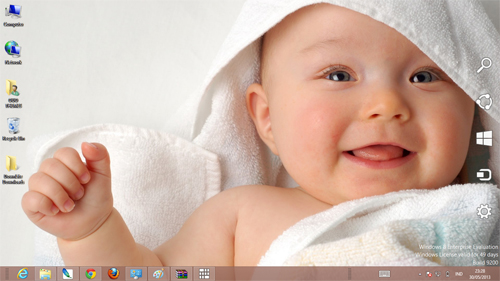 Cute Baby Theme For Windows 7 And 8