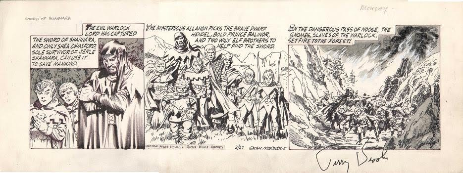 Gray morrow comic strip