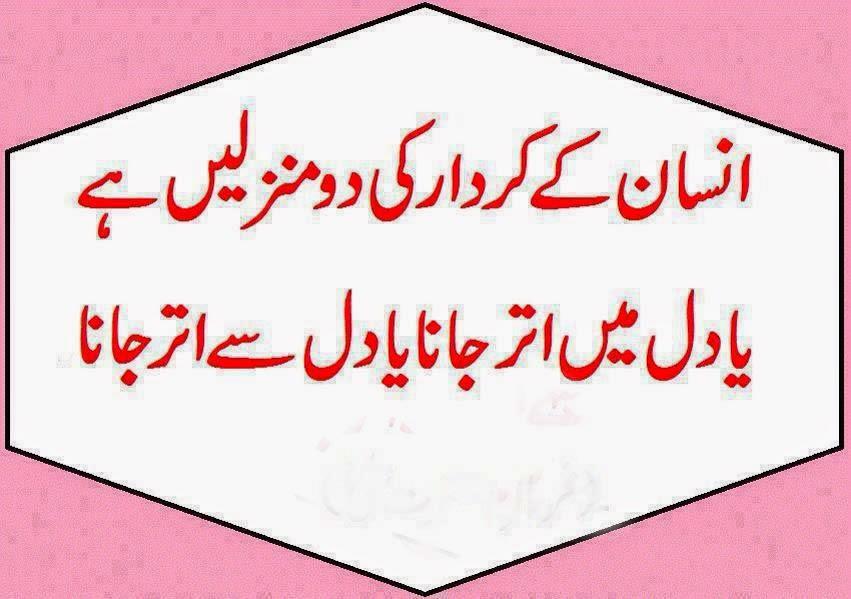 Kirdaar SMS Shayari In Urdu