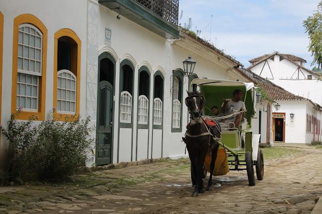 Paraty, Centro histórico, Rio, Charrete Paraty