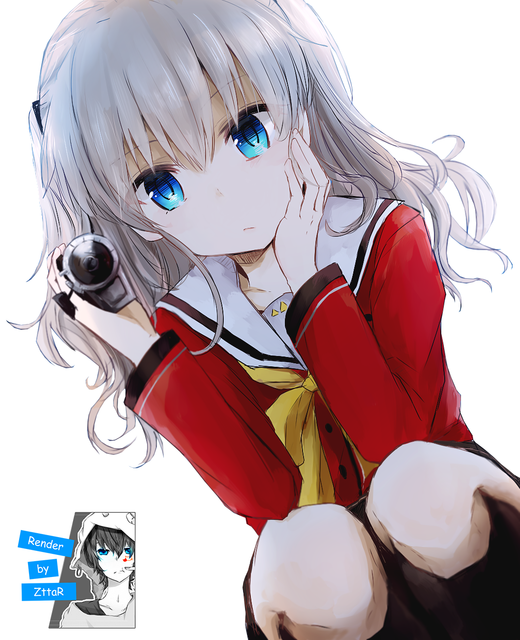 Render Tomori Nao looking