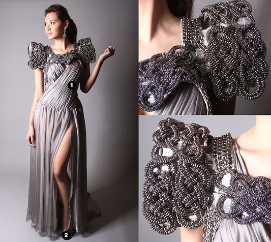 Filipiniana Terno Dress http://www.rebelliousbrides.com/2011/07/rebellious-idea-noypi-wedding.html
