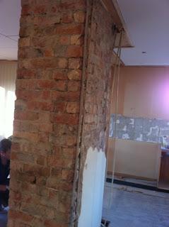 putsning av murstock
