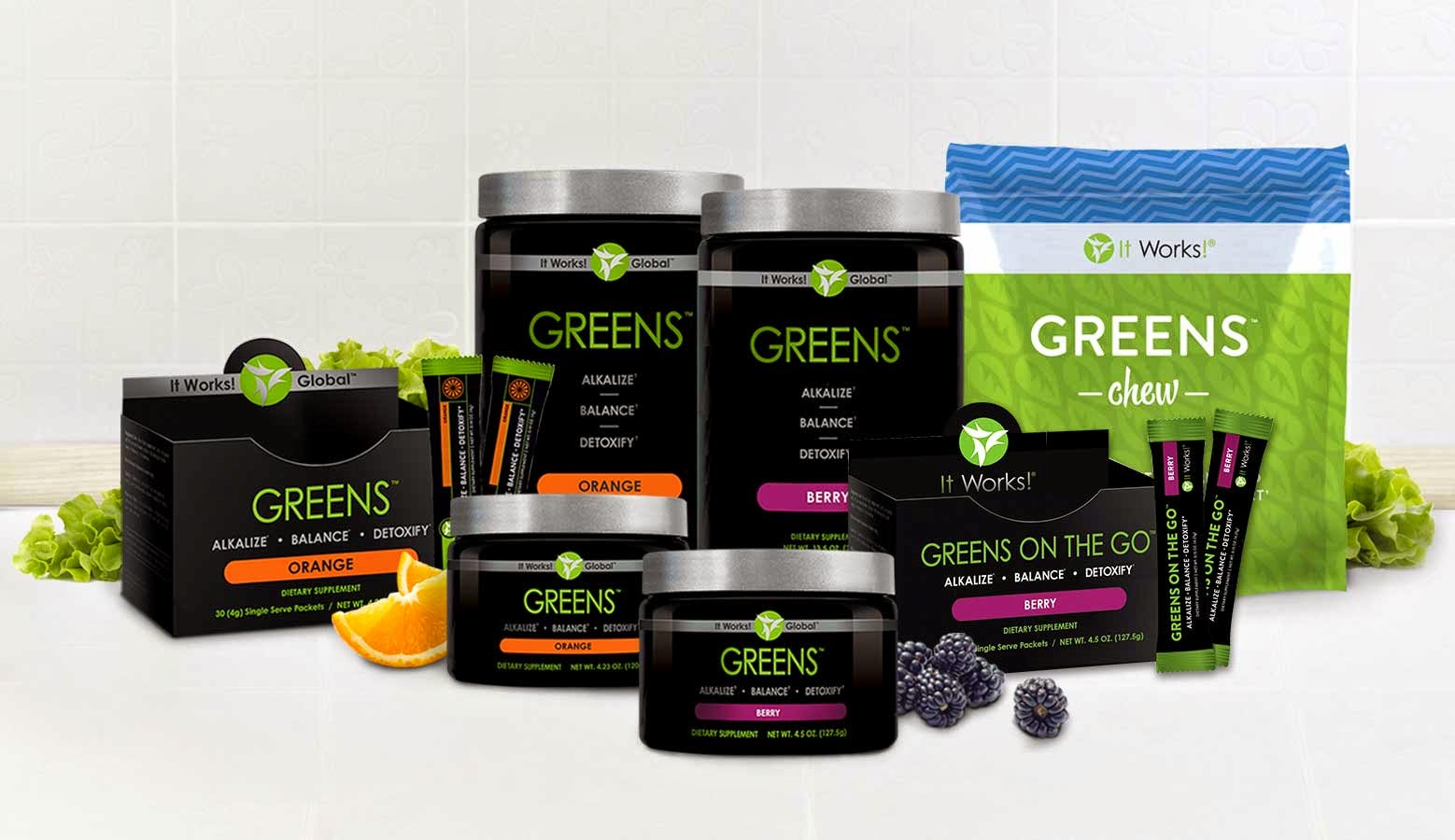 GET YOUR GREENS ON THE GO