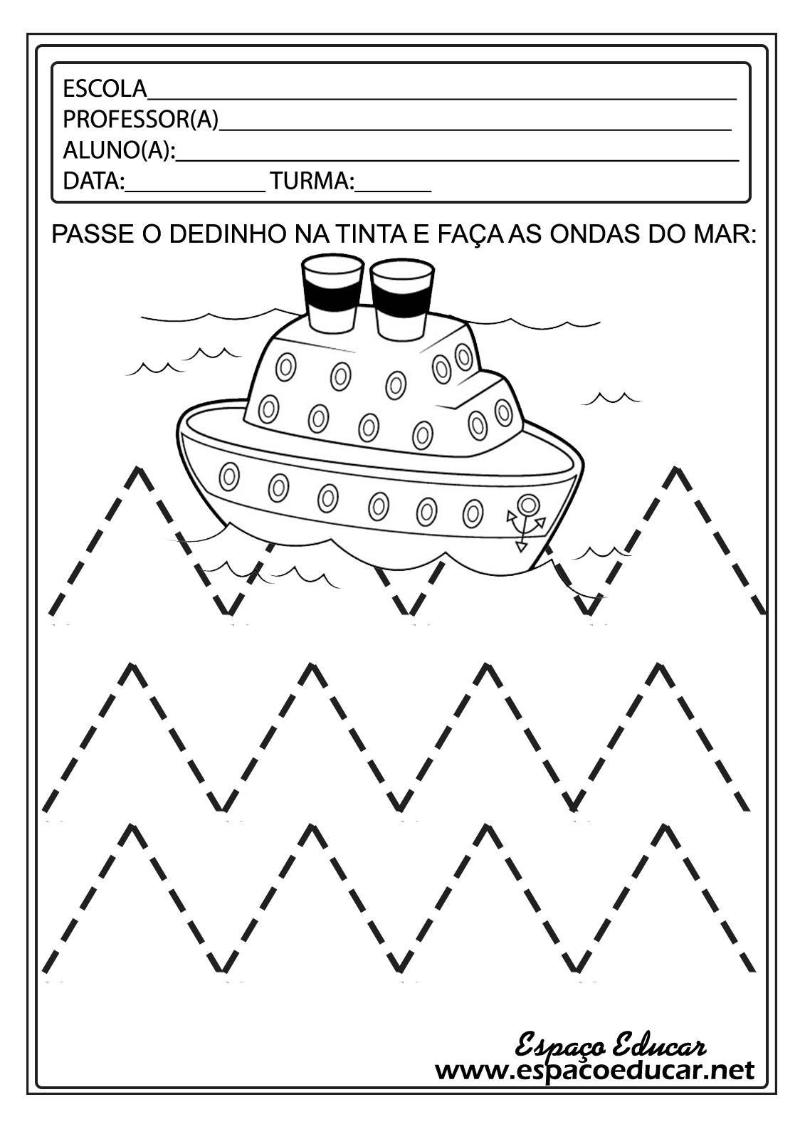 Well-known ESPAÇO EDUCAR: Lindas atividades para a Educação Infantil! LI62
