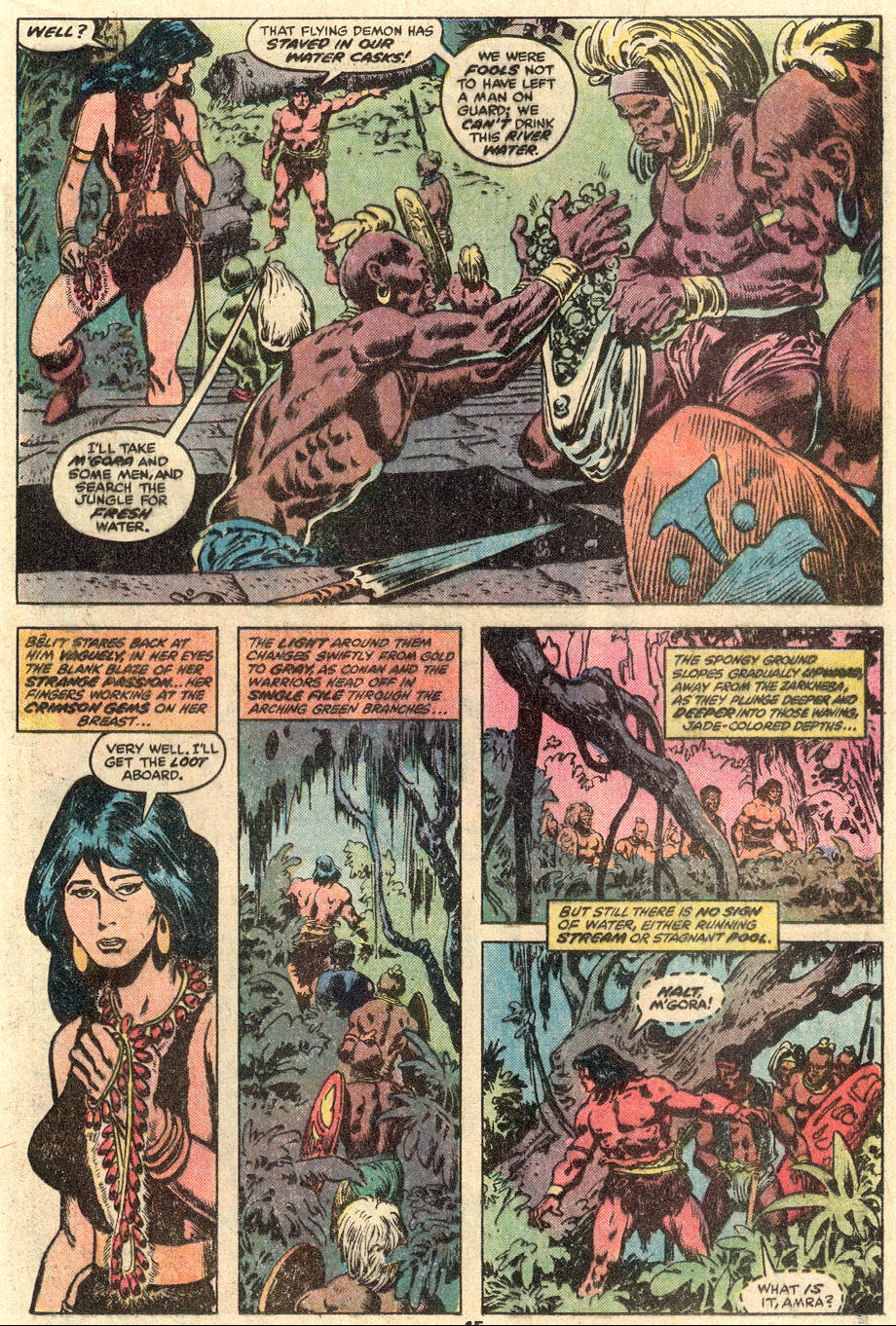 Conan the Barbarian (1970) Issue #100 #112 - English 12