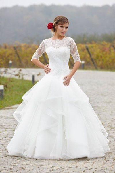 rochie de mireasă tip prințesă