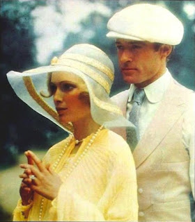 Película 'El gran Gatsby', Robert Redford y Mia Farrow