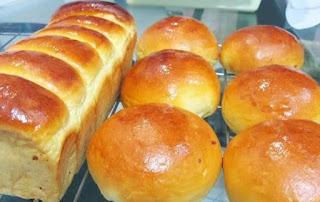 Cara Membuat Roti Manis Empuk Sederhana
