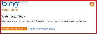 Bing Webmaster Tools