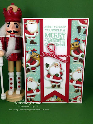 Narelle Fasulo - Independent Stampin' Up! Demonstrator - Home For Christmas