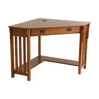 Buy small corner desk for small areas small corner desk with drawers - Small oak corner computer desk ...