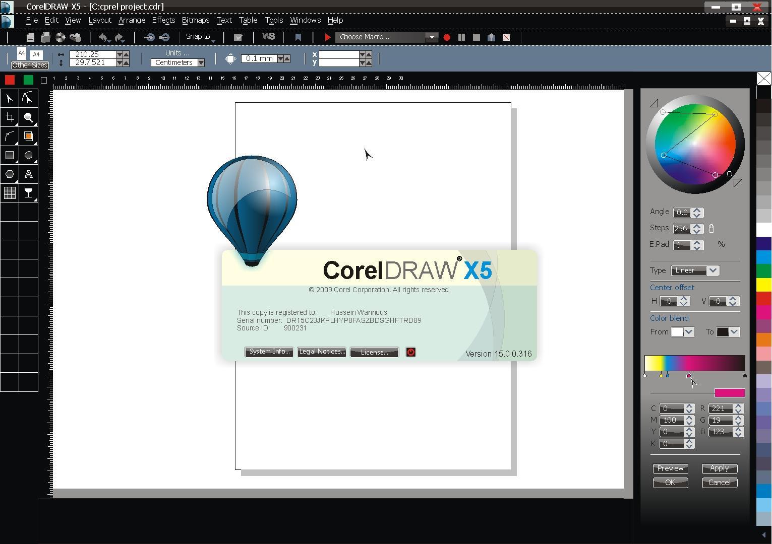 Corel Draw X5 Pak Mobile Ghar