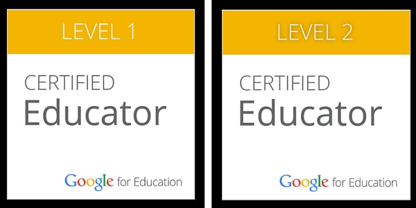 New Things I\'ve Tried: Google Certified Educator (Levels 1 & 2) are ...