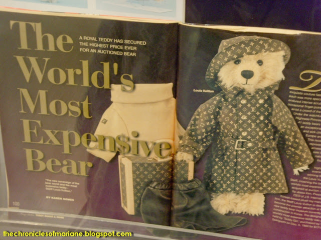 teddy bear expensive
