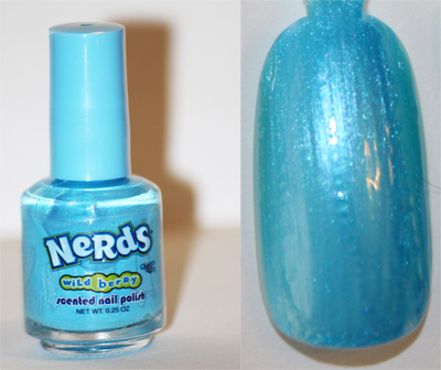 Unique-Desire: Nerds Candy Scented Polish Set Review & Swatches