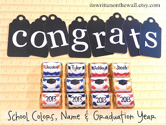 A Personalized Sweet Treat for the Graduate