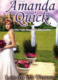 Novel Late For The Wedding by Amanda Quick