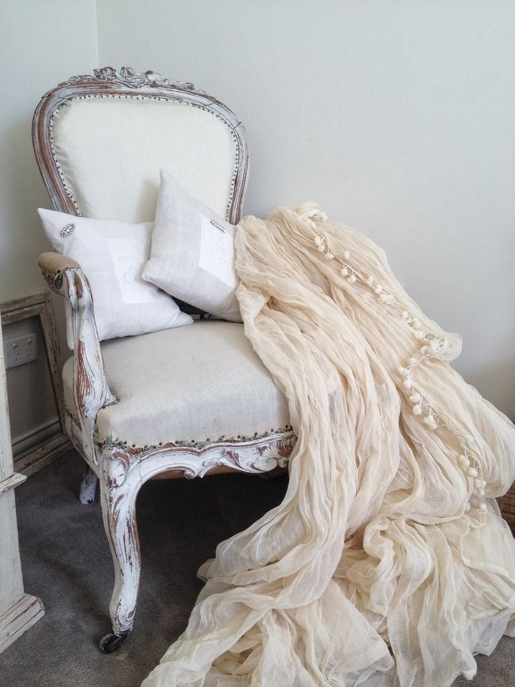 Simply Shabby Chic Chair Pads : pudding n lace: A Year of Pretty - January 20, 2014