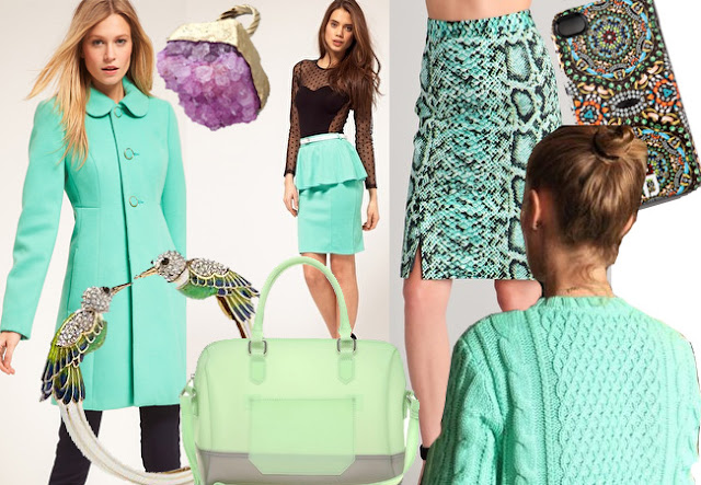 spring 2012,spring 2012 trends,mint color,pastel color,candy bag,dannijo