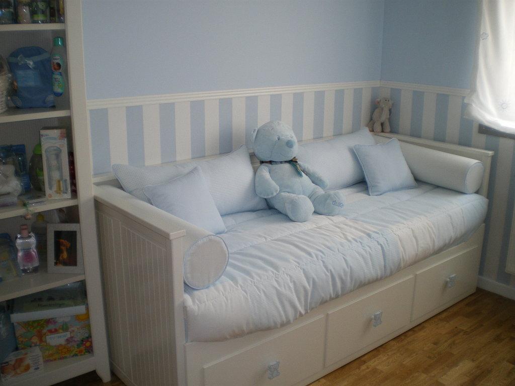 O blog d 39 a janelinha o papel de parede na decora o de quartos de beb - Sofas para habitacion ...