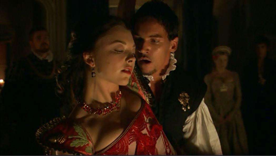 Anne Boleyn and King Henry VIII dances the Volta