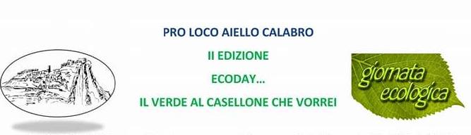 EcoDay2017 Giornata ecologia al Casellone - Appuntamento domenica 25 giugno 2017
