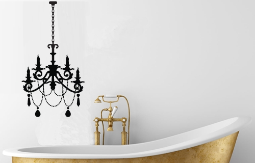 Make Any Room In Your House Luxuriously Glamorous With The Easy Application  Of Your Own Chandelier. Available In Black, White Silver Or Gold. Only R  199!