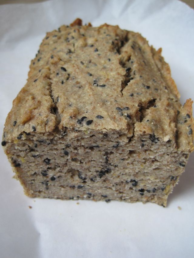Meat free everyday lemon poppy seed low carb bread for Atkins cuisine baking mix substitute