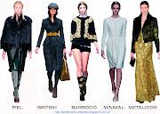 Cinco looks claves: Estilos de moda invierno 2013 estilo de moda otoã±o invierno