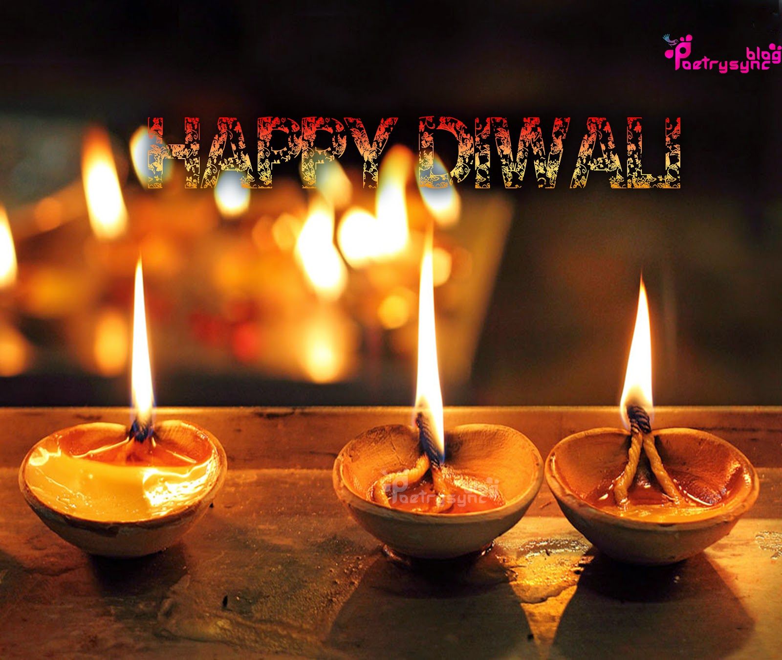 Happy Diwali Festival Wallpapers With Information In