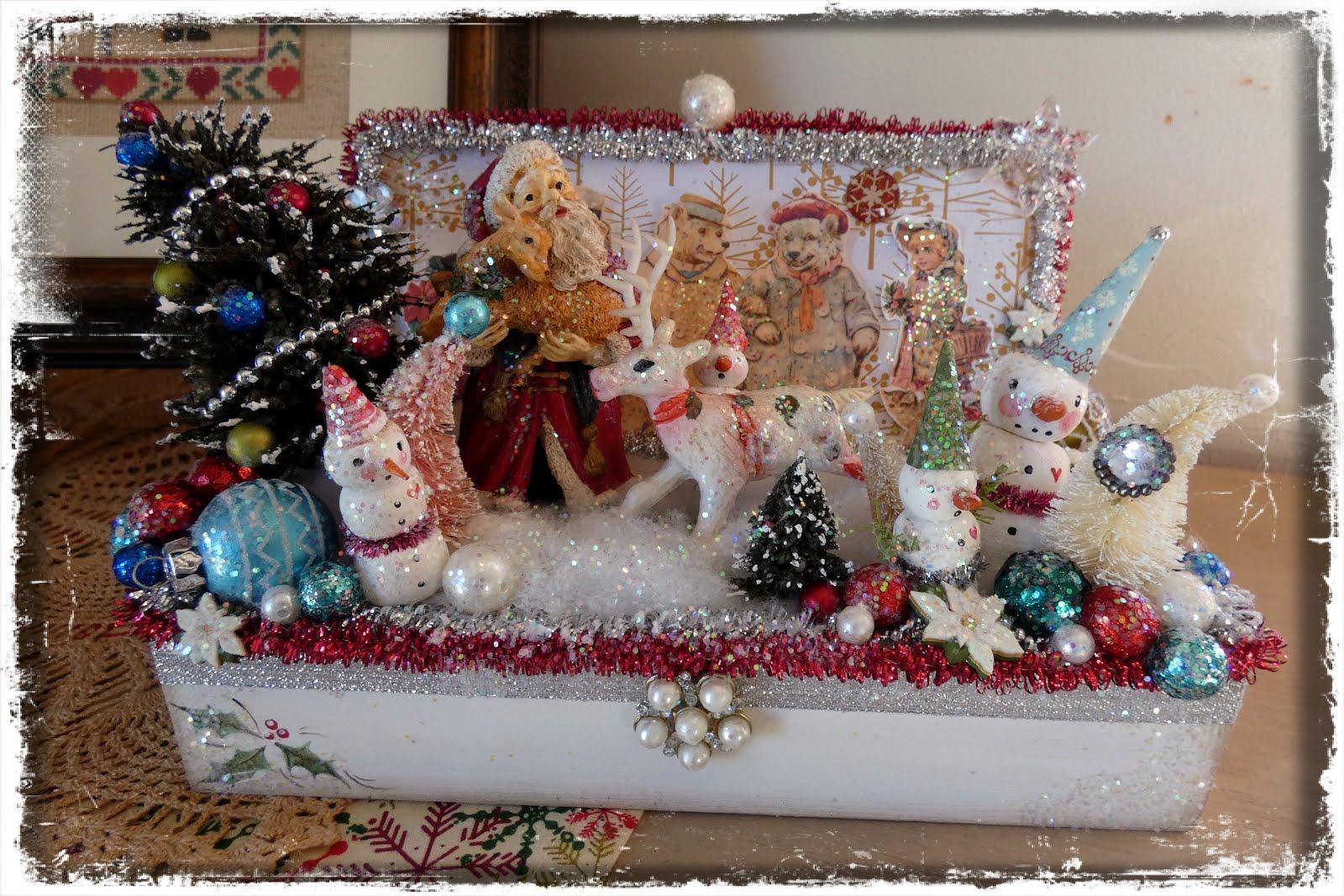 Santa Sparkle Box