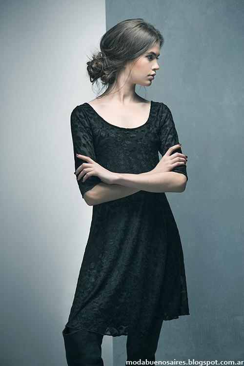 Vestidos invierno 2015 Doll Store ropa de mujer.