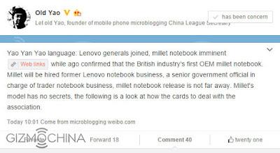 Rekrut Pejabat Lenovo, Xiaomi Akan Rilis Laptop