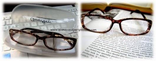 Cotton Tortoise reading glasses
