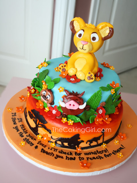 best lion king simba cake
