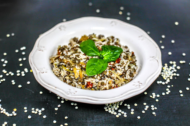 Adas Polo - Persian Rice With Lentils, lentils, rice, vegan, vegetarian