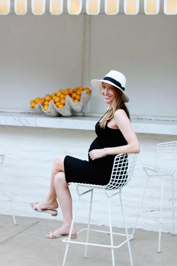 Style the bump: Ingrid & Isabel maternity tank dress