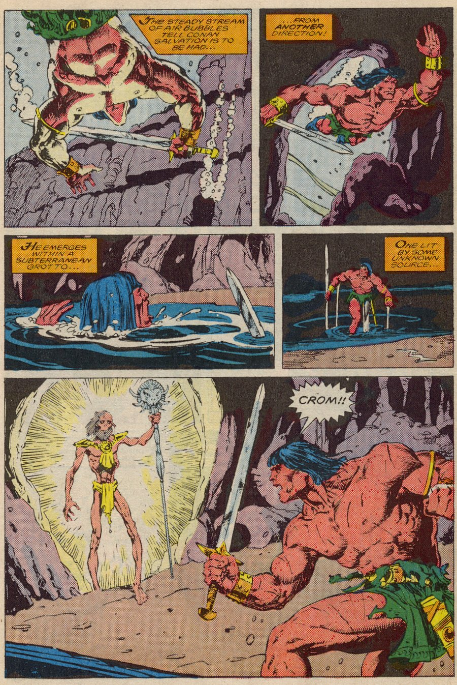 Conan the Barbarian (1970) Issue #194 #206 - English 10