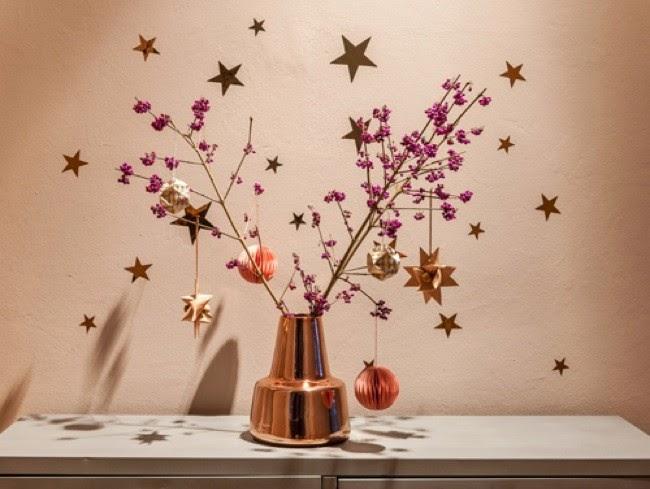 Marzua decorando en navidad con ramos de flores secas - Plantas secas decoracion ...
