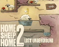 Home Sheep Home 2 Lost Underground solucion