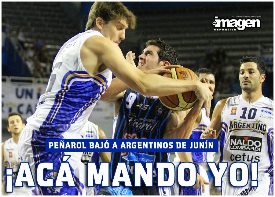 PEÑAROL 78 ARGENTINOS DE JUNÍN 65
