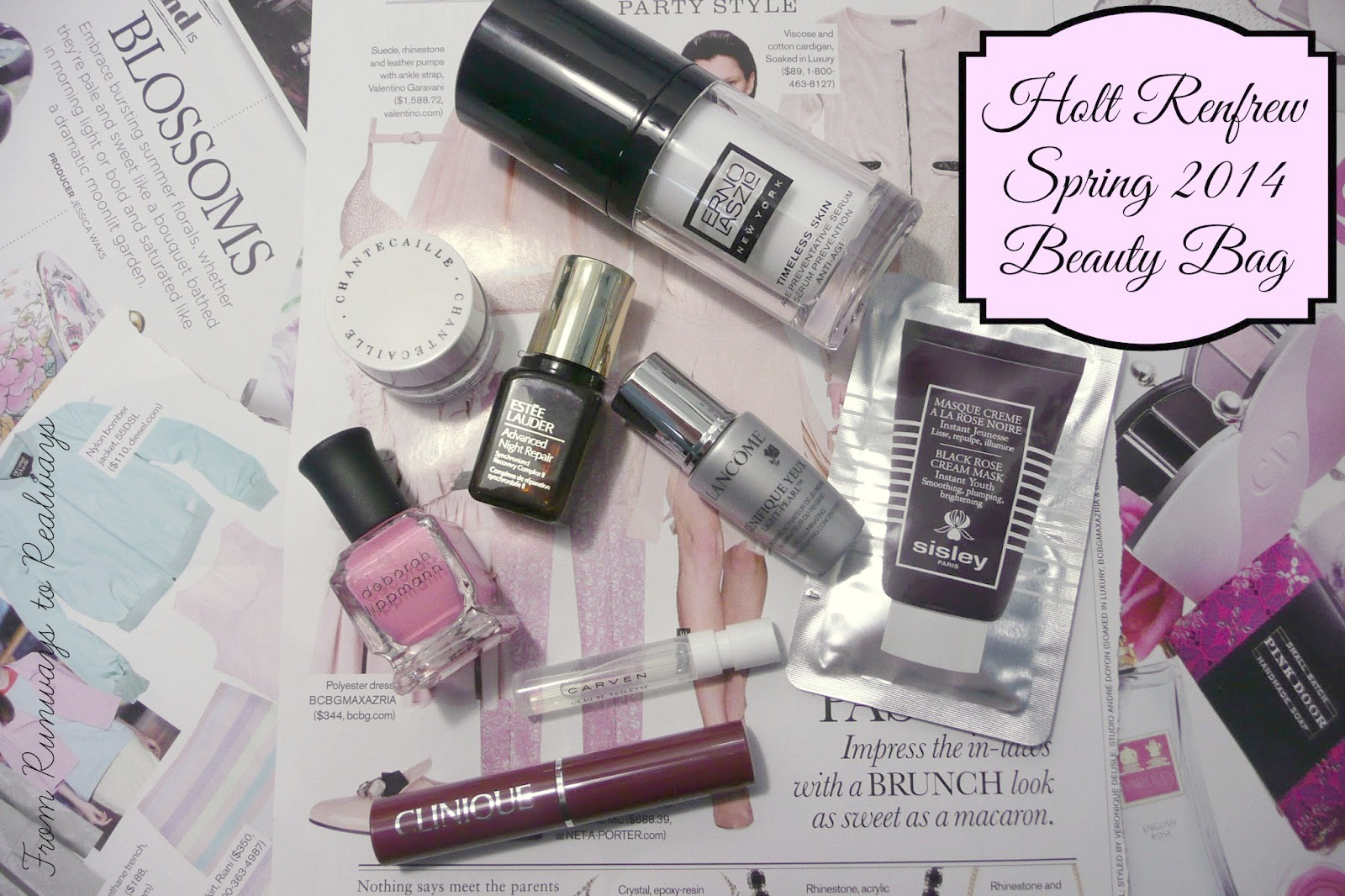 Holt Renfrew Spring Beauty Bag 2014