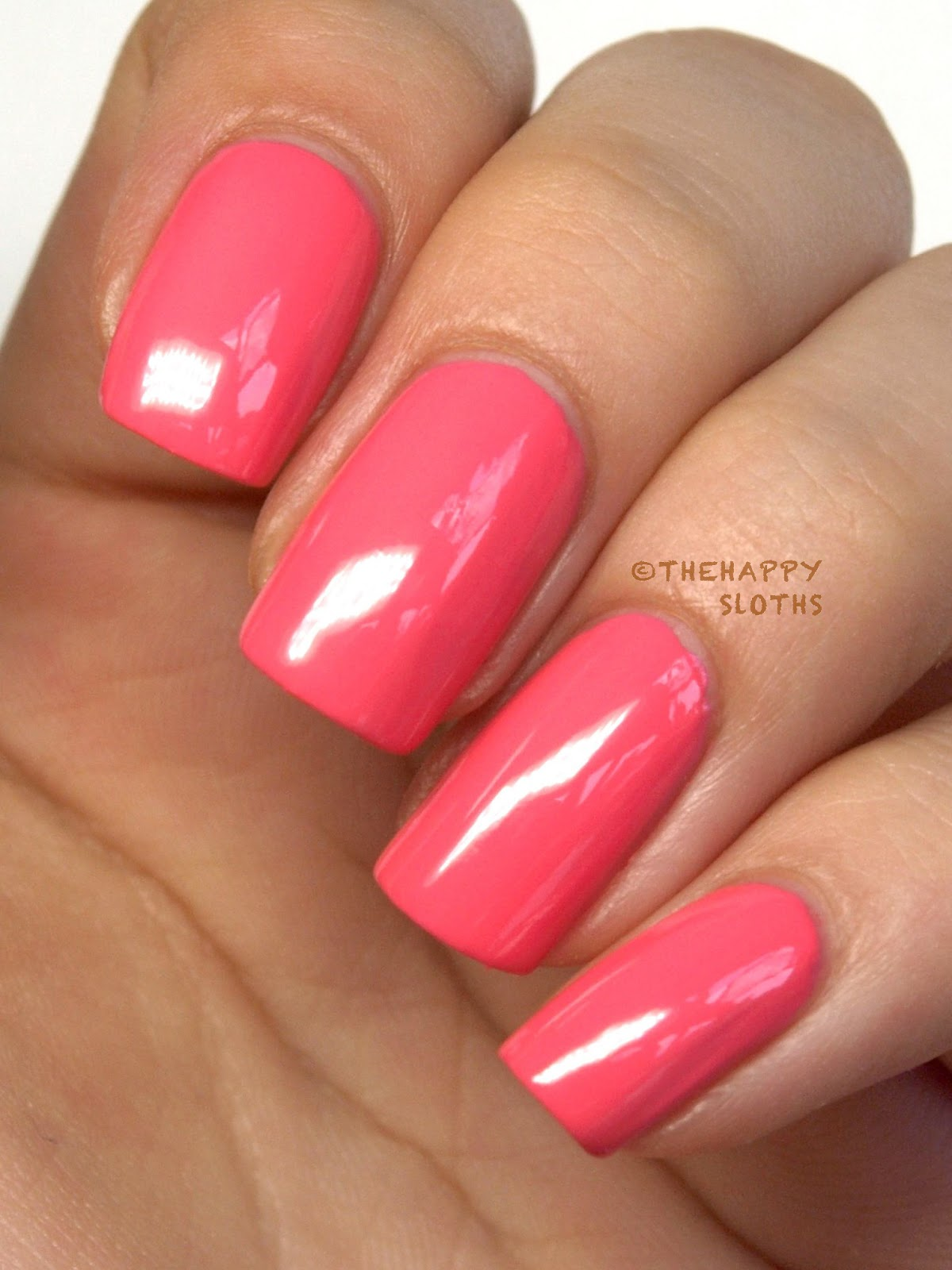 Nicole by OPI Seize the Day Summer 2014 Leapink for Joy Review Swatch