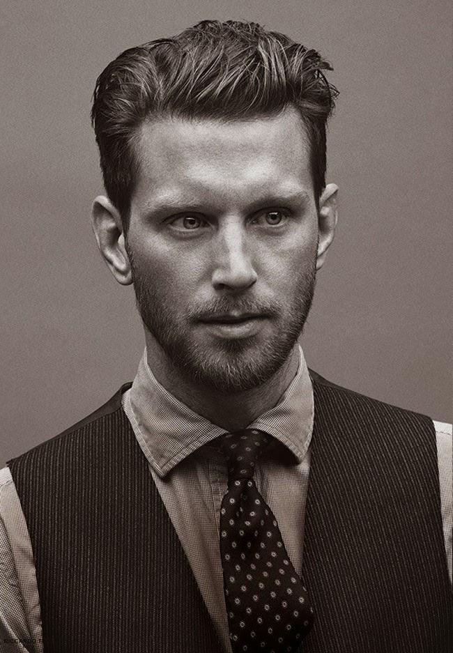 MEN'S HAIRCUTS TRENDS - Slick Back, Quiff, Pompadour & Short Hair ...