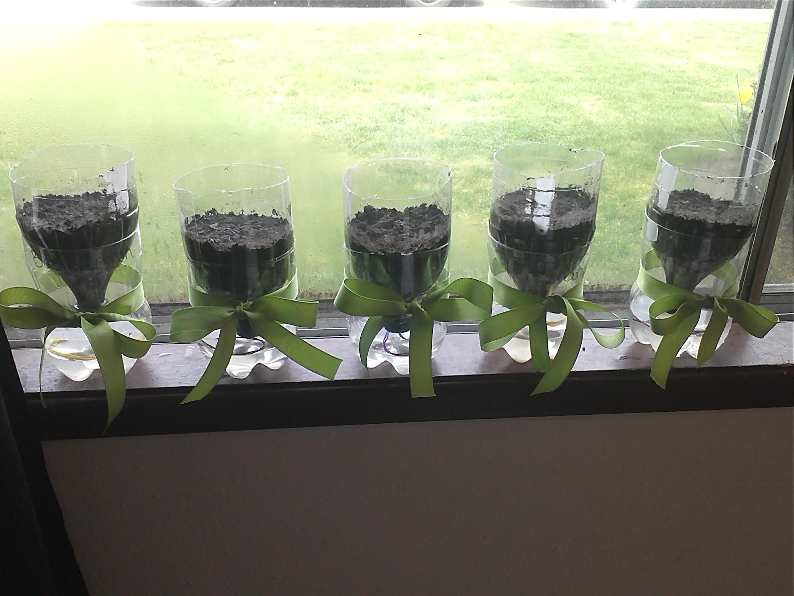 Blissfully blessed diy self watering plant containers - Diy self watering container garden ...