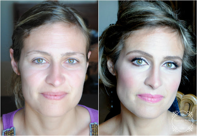 daniela pires, maquilhagem de noiva Libsoa, maquilhagem ao domicílio Libsoa, maquilhadora profissional, antes e depois, makeup artist, noiva, casamento