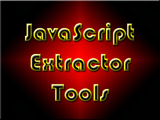 JavaScript Extractor Tools