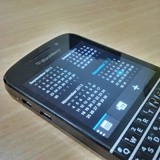 Duplikat Kalender di BlackBerry 10