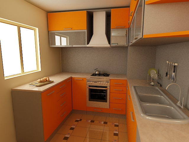 Home improvements kitchen small kitchen remodeling ideas for Tiny kitchen remodel